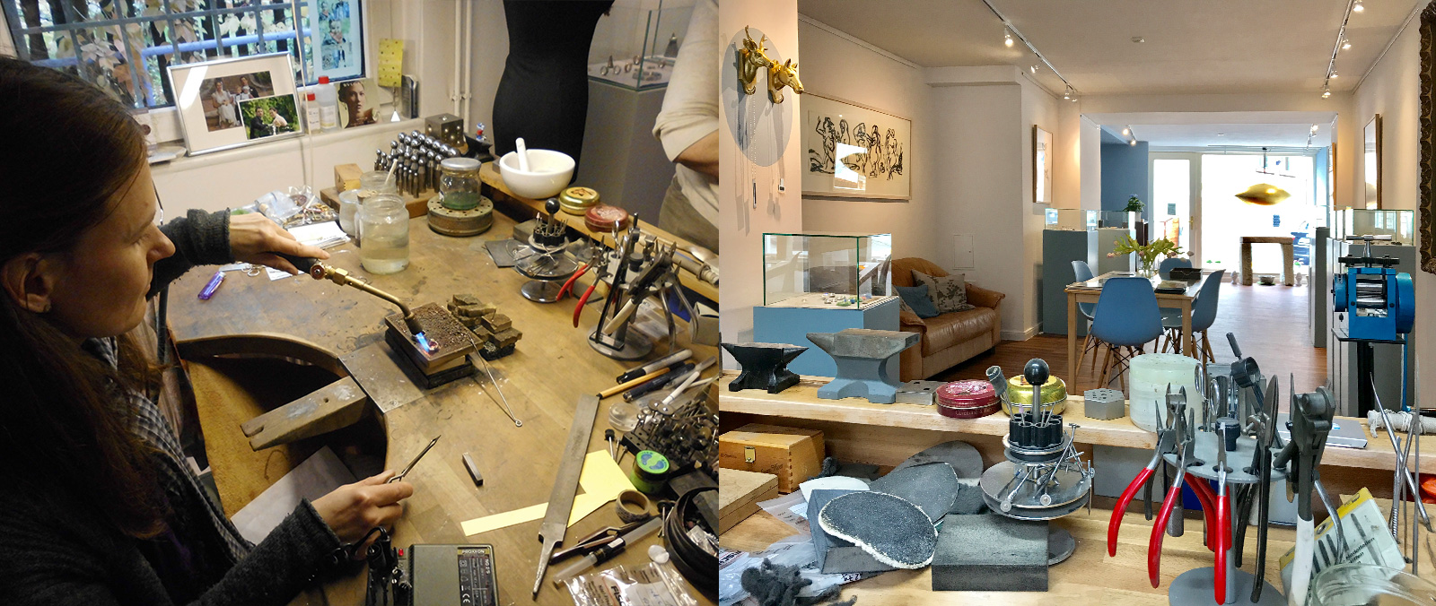Einblick in Nane Adams Werkstatt
